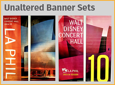 Unaltered Banner Set